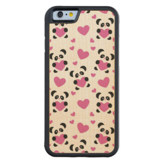 Pattern to the Day of Love Carved® Maple iPhone 6 Bumper Case