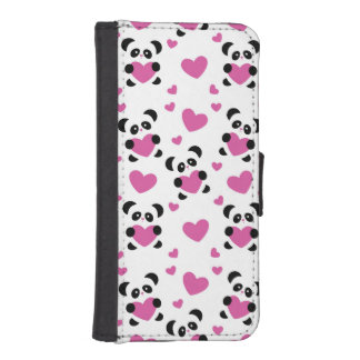 Pattern to the Day of Love iPhone SE/5/5s Wallet Case
