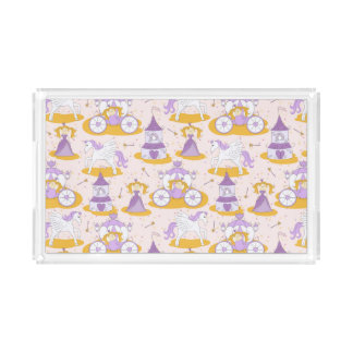 pattern with a princess acrylic tray