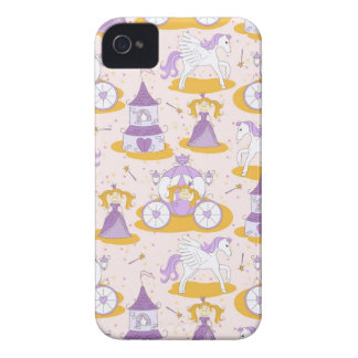 pattern with a princess Case-Mate iPhone 4 case