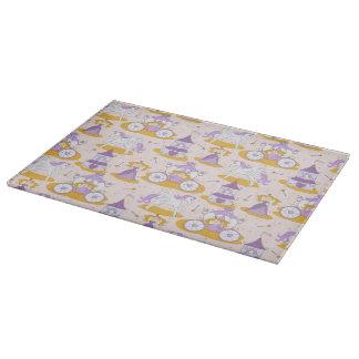 pattern with a princess cutting board