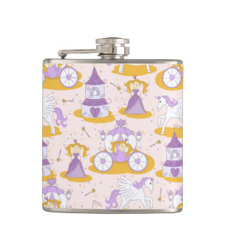 pattern with a princess hip flask