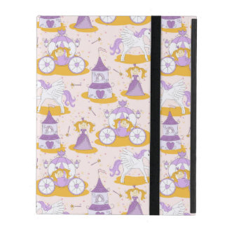 pattern with a princess iPad cover