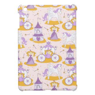 pattern with a princess iPad mini case