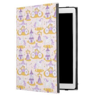 "pattern with a princess iPad pro 12.9"" case"