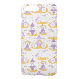pattern with a princess iPhone 8 plus/7 plus case