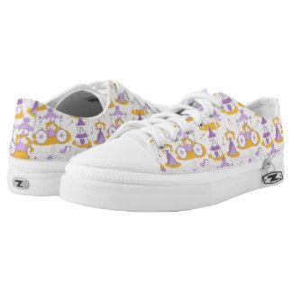 pattern with a princess low tops