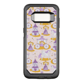 pattern with a princess OtterBox commuter samsung galaxy s8 case
