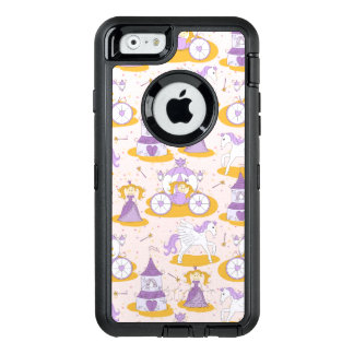 pattern with a princess OtterBox iPhone 6/6s case
