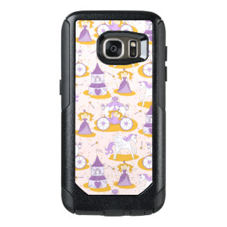pattern with a princess OtterBox samsung galaxy s7 case