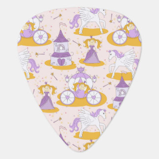 pattern with a princess plectrum