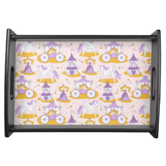 pattern with a princess serving tray