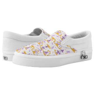 pattern with a princess Slip-On shoes