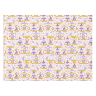 pattern with a princess tablecloth