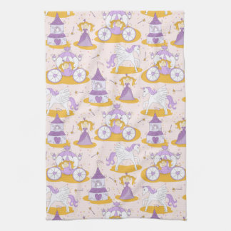 pattern with a princess tea towel