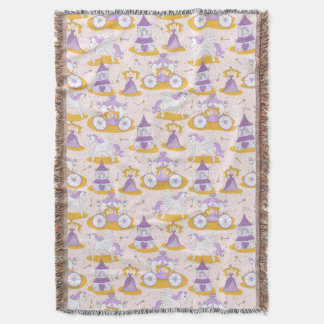 pattern with a princess throw blanket