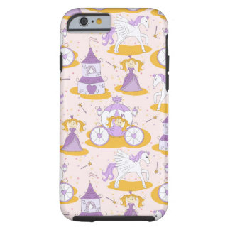 pattern with a princess tough iPhone 6 case