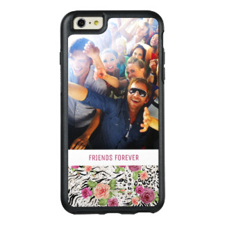 Pattern With Animal Prints | Add Your Photo & Text OtterBox iPhone 6/6s Plus Case