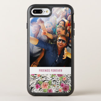 Pattern With Animal Prints | Add Your Photo & Text OtterBox Symmetry iPhone 8 Plus/7 Plus Case