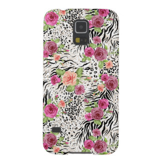 Pattern With Animal Prints Cases For Galaxy S5