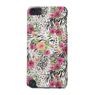 Pattern With Animal Prints iPod Touch (5th Generation) Covers