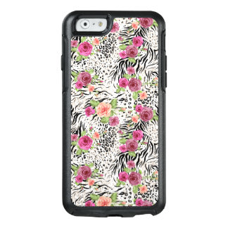 Pattern With Animal Prints OtterBox iPhone 6/6s Case