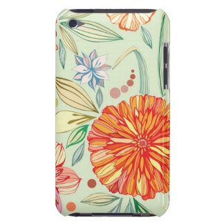 Pattern with asters barely there iPod case
