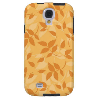 Pattern with autumn leaves galaxy s4 case