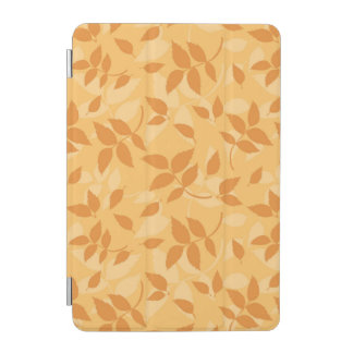 Pattern with autumn leaves iPad mini cover