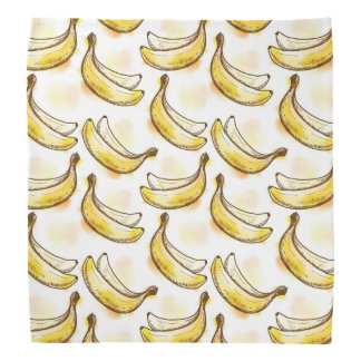 Pattern with banana bandana