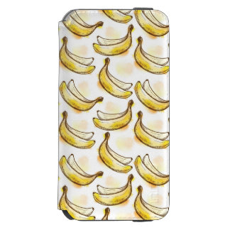 Pattern with banana incipio watson™ iPhone 6 wallet case