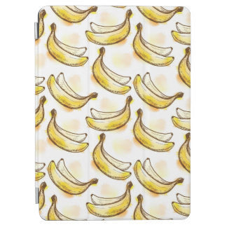 Pattern with banana iPad air cover