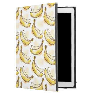 "Pattern with banana iPad pro 12.9"" case"
