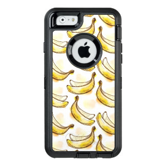 Pattern with banana OtterBox iPhone 6/6s case