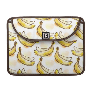Pattern with banana sleeve for MacBooks