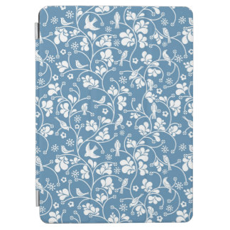 pattern with birds and plants ornament iPad air cover