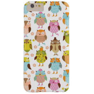 pattern with birds barely there iPhone 6 plus case