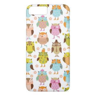 pattern with birds iPhone 8 plus/7 plus case