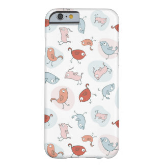 pattern with cartoon birds barely there iPhone 6 case