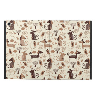 pattern with cute dogs cover for iPad air