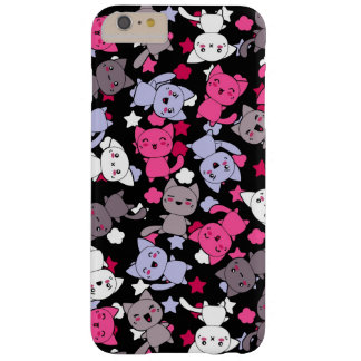 pattern with cute kawaii doodle cats 3 barely there iPhone 6 plus case
