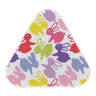 pattern with Easter rabbits