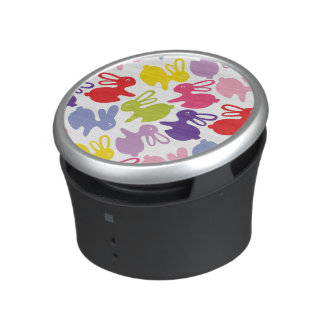pattern with Easter rabbits Bluetooth Speaker