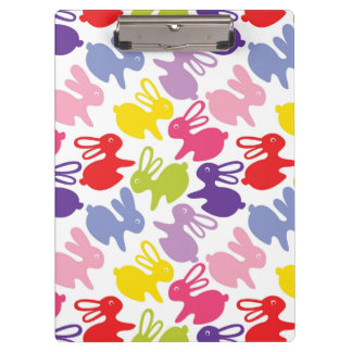 pattern with Easter rabbits Clipboard