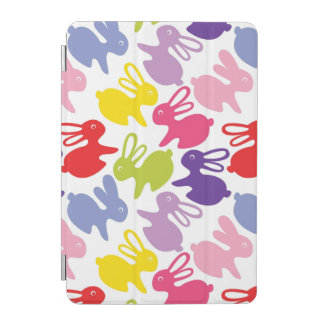 pattern with Easter rabbits iPad Mini Cover