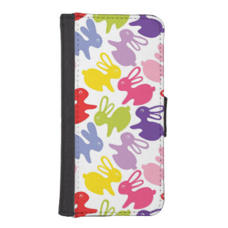 pattern with Easter rabbits iPhone SE/5/5s Wallet Case