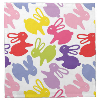 pattern with Easter rabbits Napkin