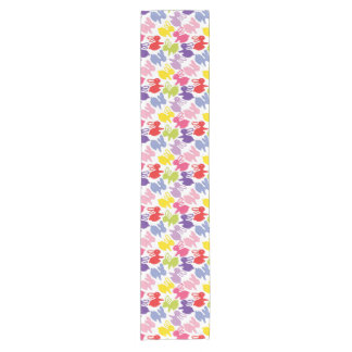 pattern with Easter rabbits Short Table Runner