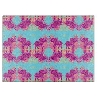 pattern with elephants Chopping Board