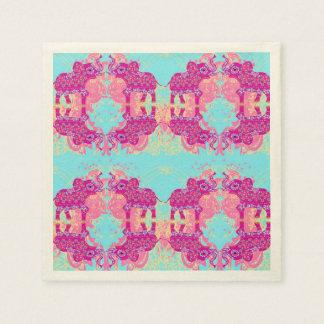 pattern with elephants Napkin Disposable Napkin
